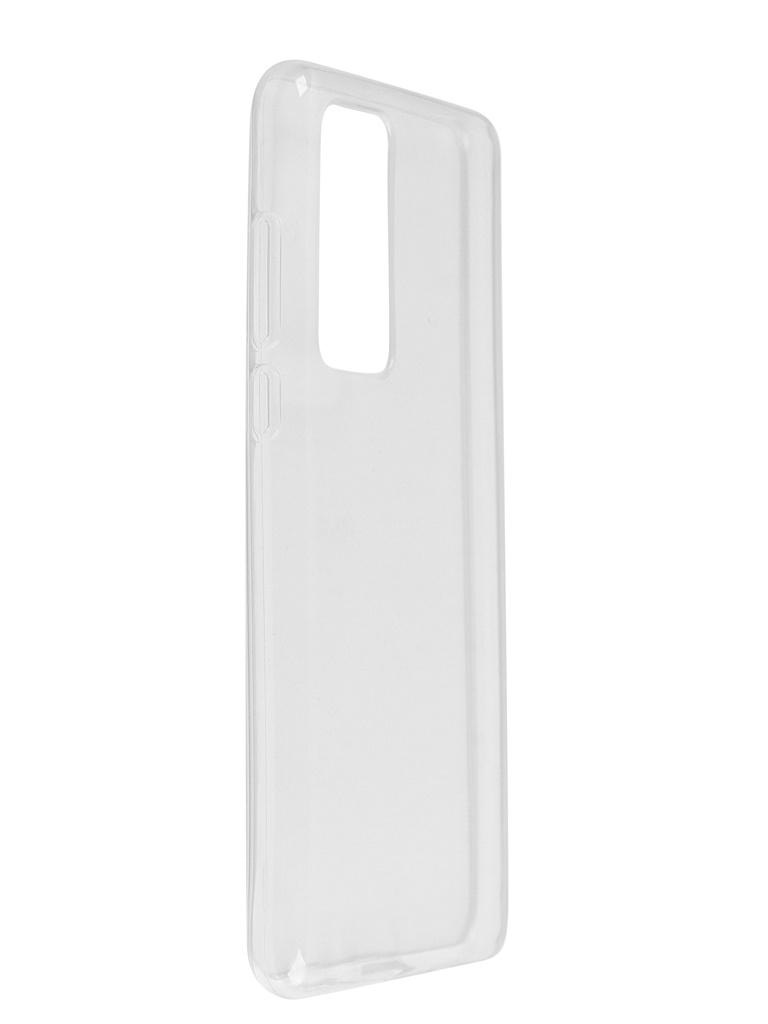 Чехол Bruno для Huawei P40 Ultrathin Silicone Transparent b20592