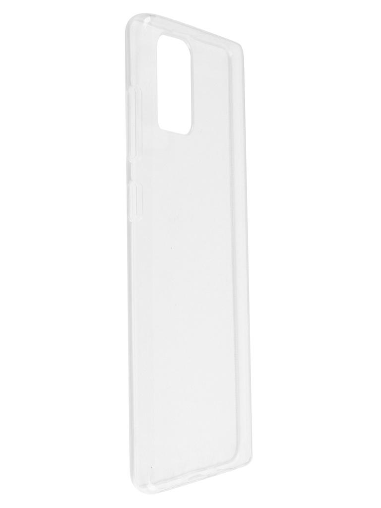 Чехол Bruno для Samsung Galaxy A71 Ultrathin Silicone Transparent b20575