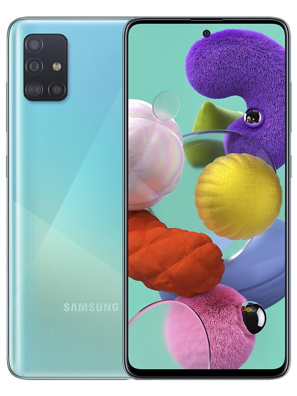 Сотовый телефон Samsung SM-A515F Galaxy A51 6Gb/128Gb Blue Выгодный набор + серт. 200Р!!!