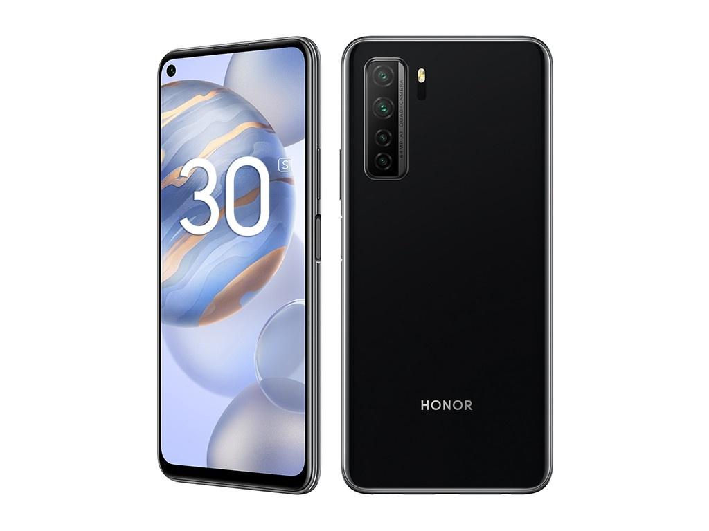 Сотовый телефон Honor 30S 6/128Gb Midnight Black Выгодный набор для Selfie + серт. 200Р!!!
