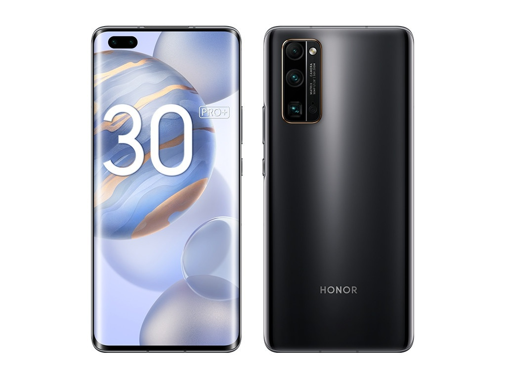 Сотовый телефон Honor 30 Pro+ 8/256Gb Midnight Black Выгодный набор для Selfie + серт. 200Р!!! сотовый