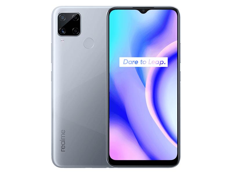 Сотовый телефон Realme C15 4/64Gb Silver