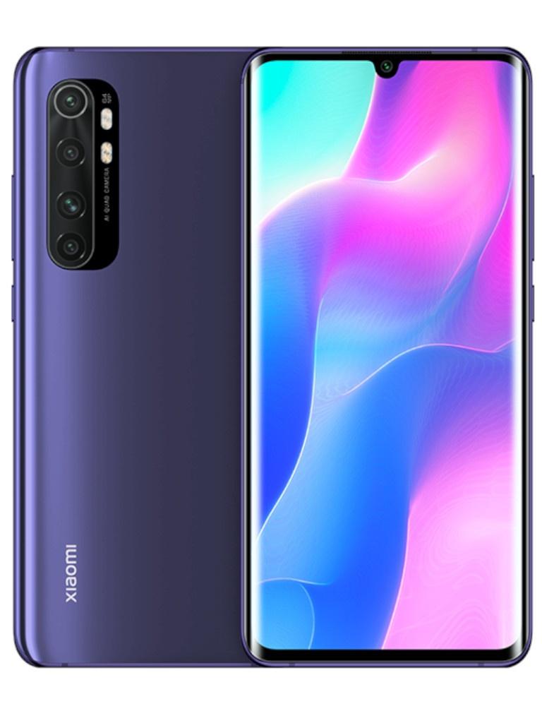 Сотовый телефон Xiaomi Mi Note 10 Lite 6/128Gb Violet Выгодный набор для Selfie + серт. 200Р!!!