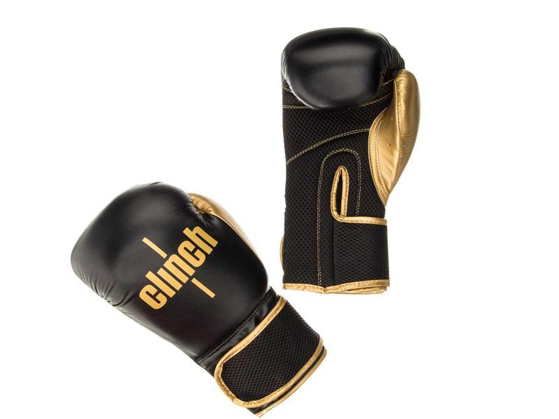 Перчатки Adidas Clinch Aero C135 10oz Black-Gold 352545
