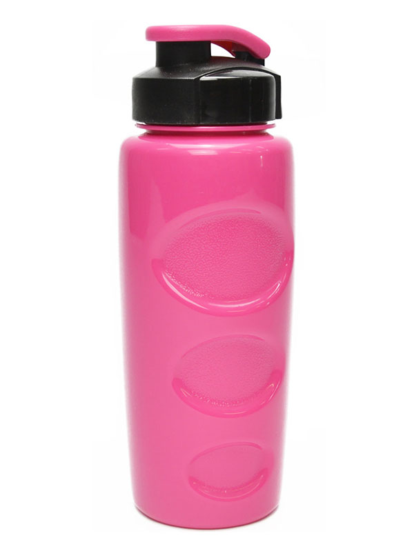 Бутылка Bool-Bool Health and Fitness Anatomic 500ml Pink-Black 361478