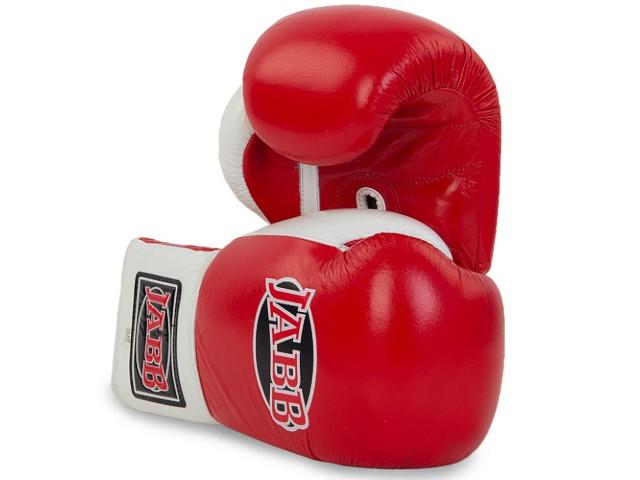 Перчатки Jabb JE-2000 12oz Red-White 311003
