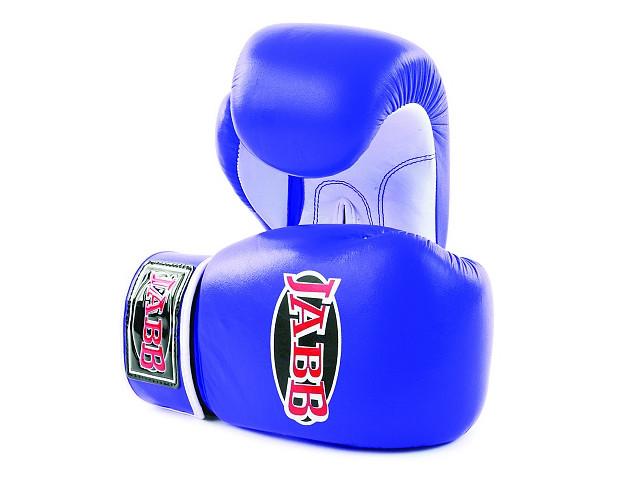 Перчатки Jabb JE-2014 10oz Blue-White 344643