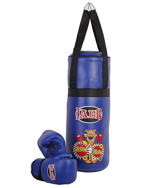 Перчатки Jabb JE-3060 + мешок 50x20cm Blue 313239