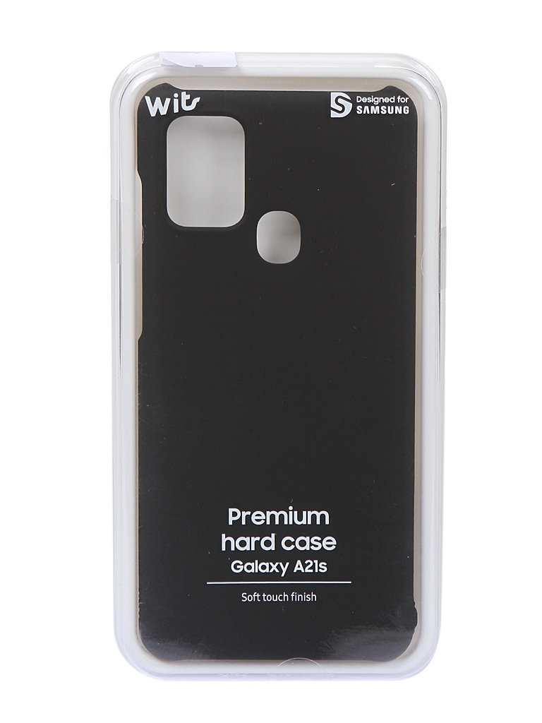 Чехол Wits для Samsung Galaxy A21s Premium Hard Case Black GP-FPA217WSABR