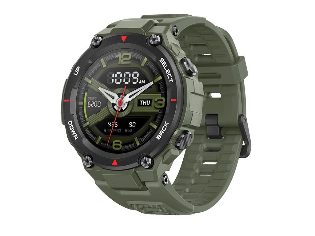 Умные часы Xiaomi Amazfit T-Rex A1919 Army Green Выгодный набор + серт. 200Р!!!