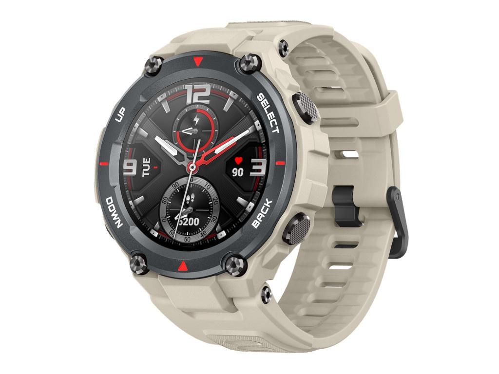 Умные часы Xiaomi Amazfit T-Rex A1919 Khaki Выгодный набор + серт. 200Р!!!