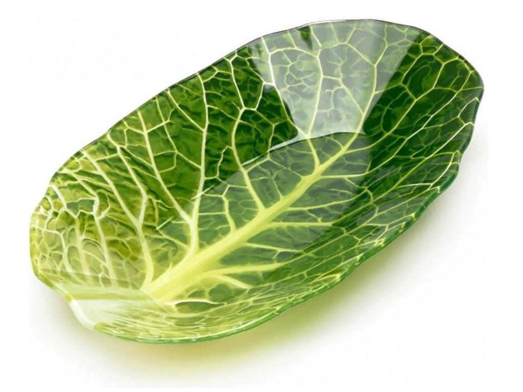 Салатник Walmer Leaf Lettuce 13x23cm W22071323