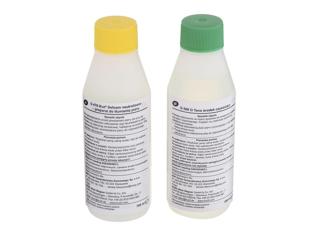 Моющее средство для пылесосов Bosch BBZWDSET