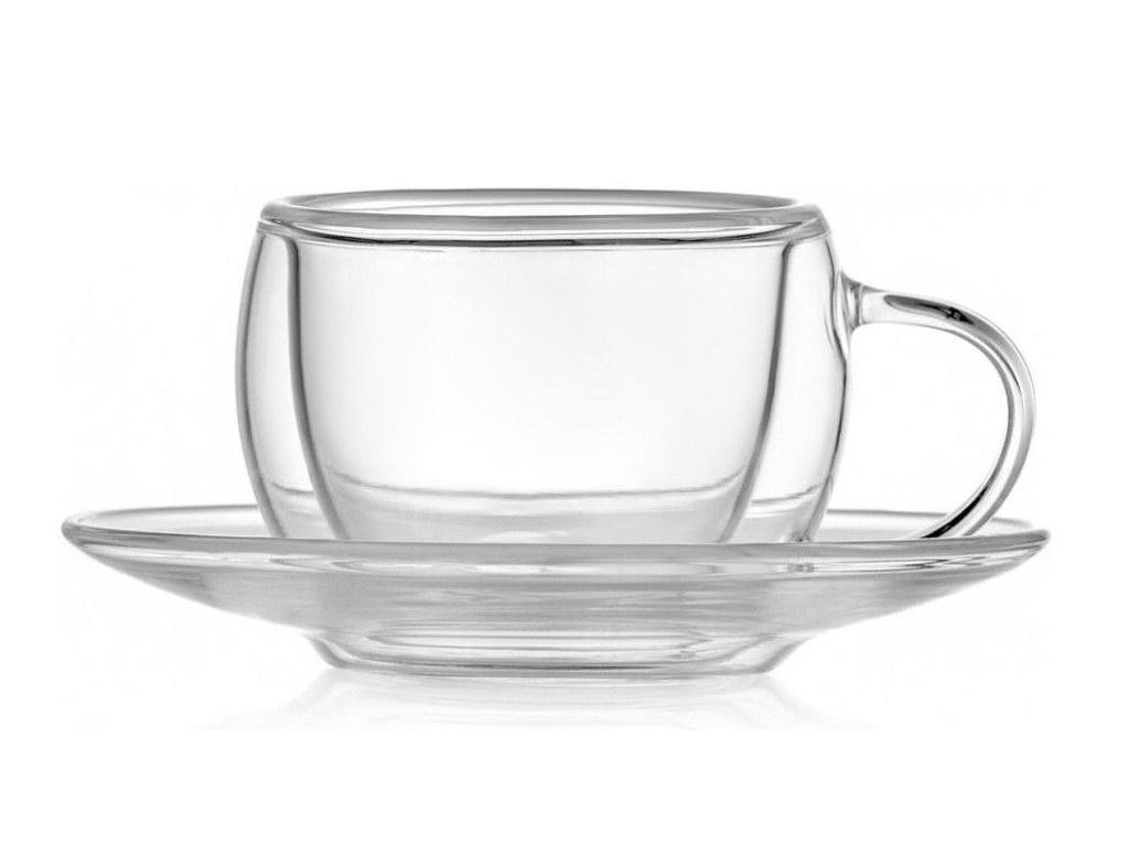 Набор кофейных чашек Walmer Floral 80ml 2шт W37000613