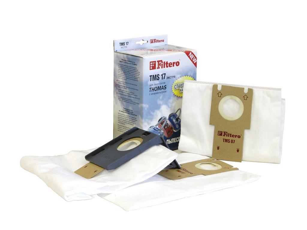 Мешки-пылесборники Filtero TMS 17 Экстра (2шт + держатель)