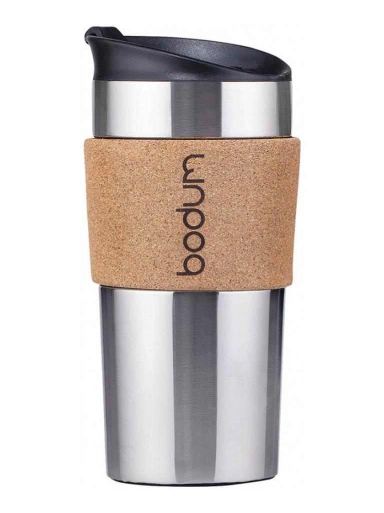 Термокружка Bodum Travel Mug 350ml Cork 11068-109S
