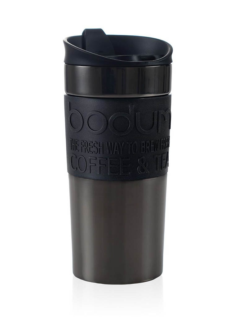 Термокружка Bodum Travel Mug 350ml Weapon Steel 11068-380S