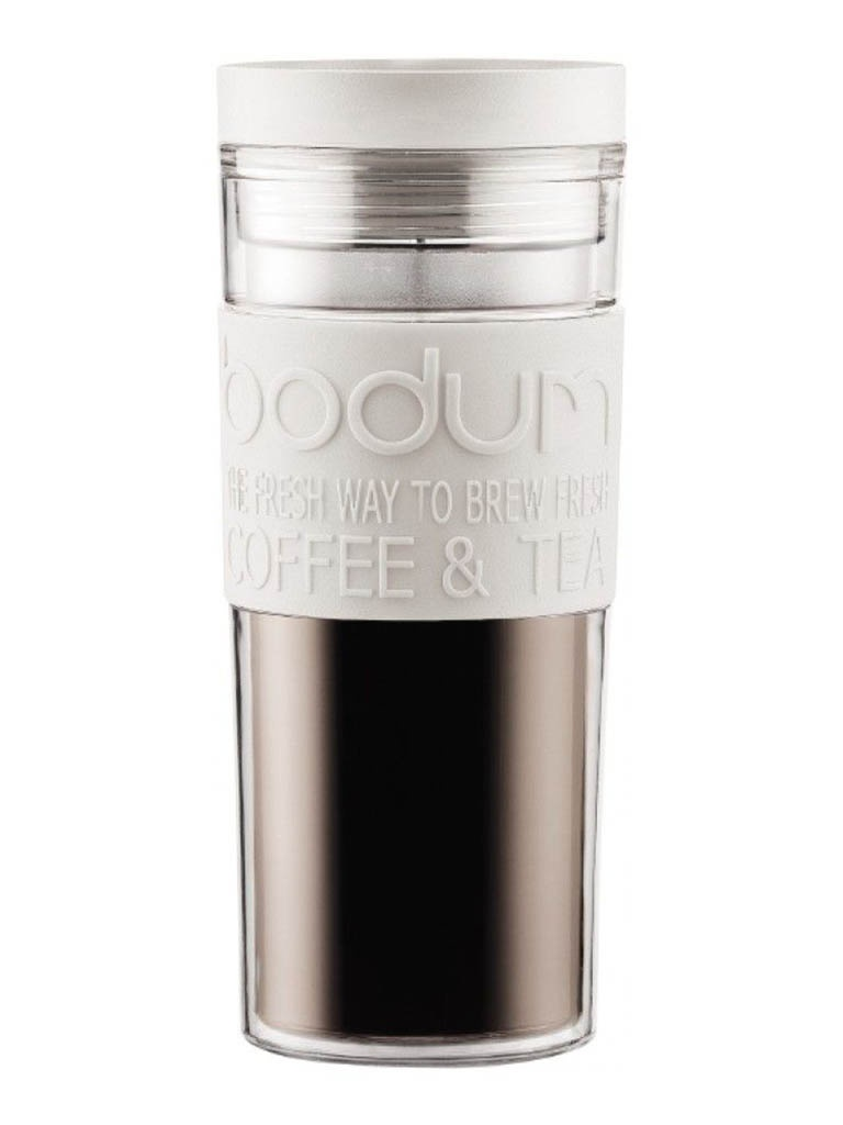 Термокружка Bodum Travel Mug 450ml White 11685-913