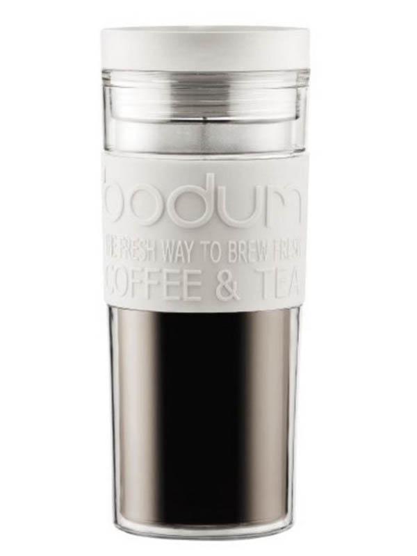 Термокружка Bodum Travel Mug 450ml White 11685-913S