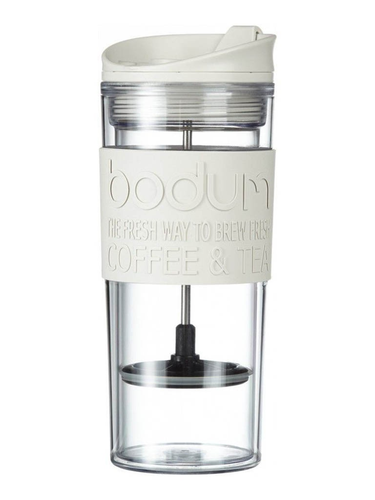 Термокружка Bodum Travel Press 450ml White 11100-913