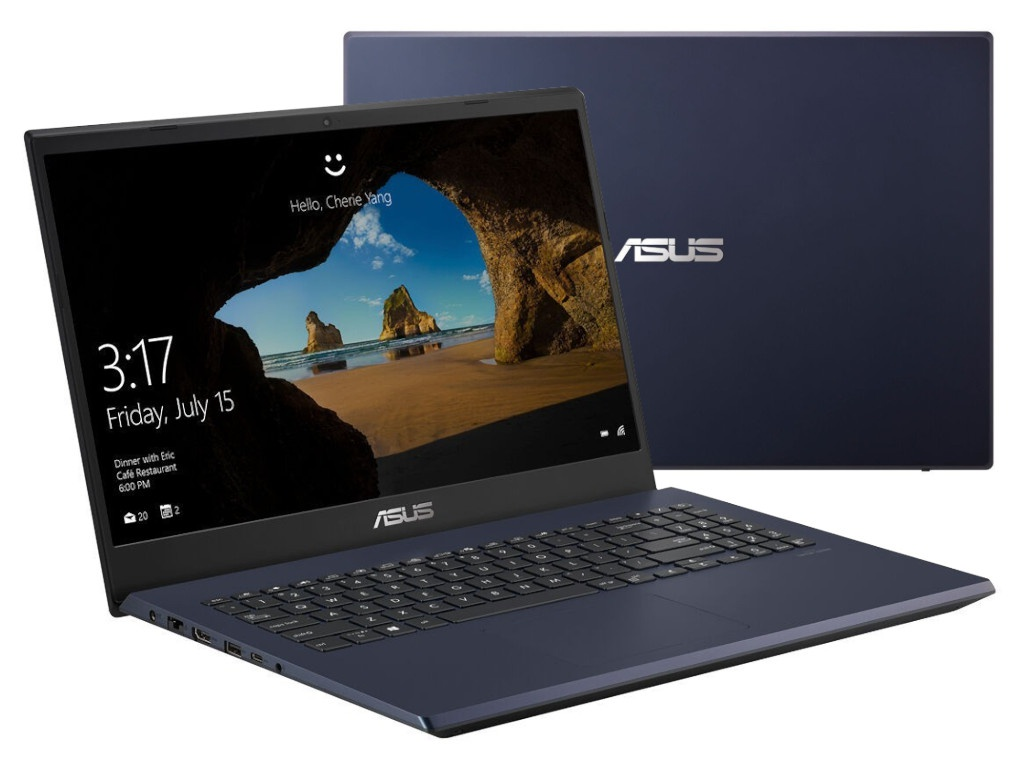 Ноутбук ASUS VivoBook Gaming F571GT-BQ423T 90NB0NL1-M11080 (Intel Core i5-8300H 2.3GHz/8192Mb/512Gb SSD/nVidia GeForce GTX 1650 4096Mb/Wi-Fi/15.6/1920x1080/Windows 10 64-bit)