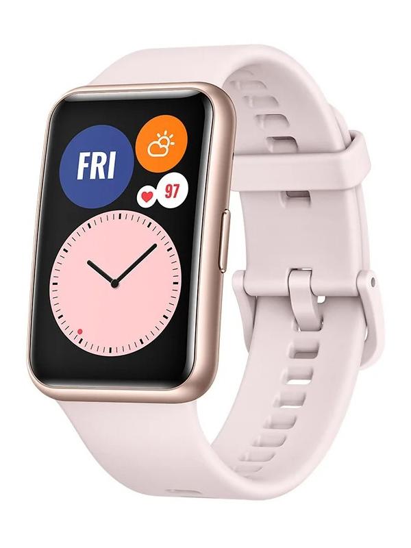 Умные часы Huawei Watch Fit TIA-B09 Sakura Pink 55025872 смарт часы huawei watch fit tia b09 1 64 черный черный [55025871]