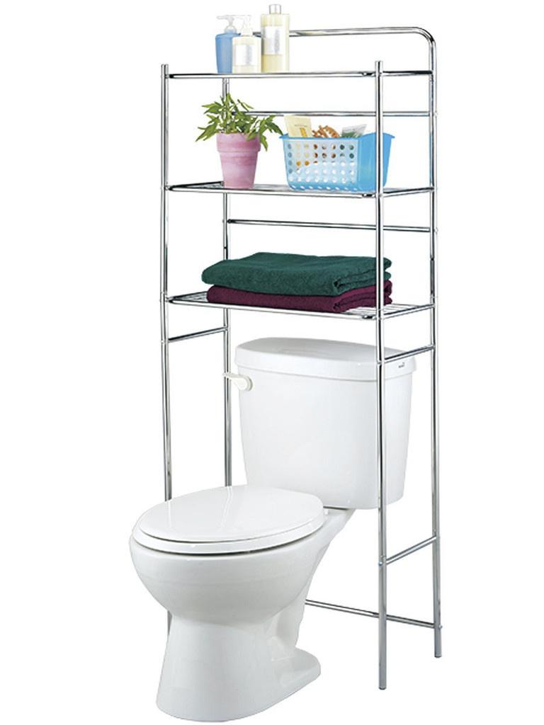 Стеллаж Unistor CODY 3-х ярусная для туалета с дополнительной фиксацией к стене