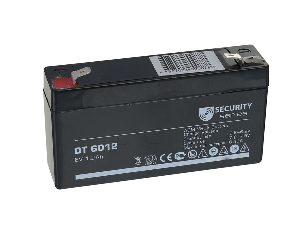 Аккумулятор для ИБП Delta DT-6012 6V 1.2Ah