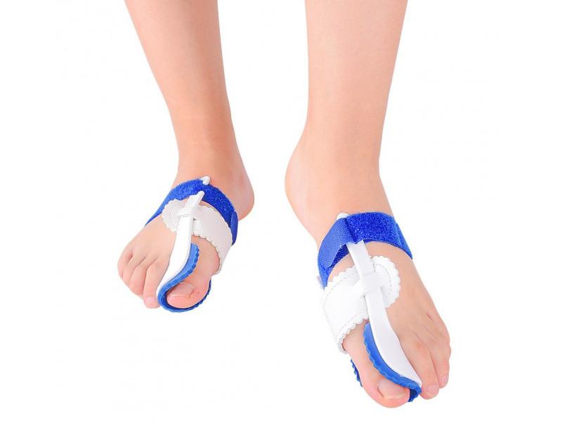 Ортопедическое изделие Корректор сустава ноги As Seen On TV Valgus Pro Silicone White - фиксатор большого пальца