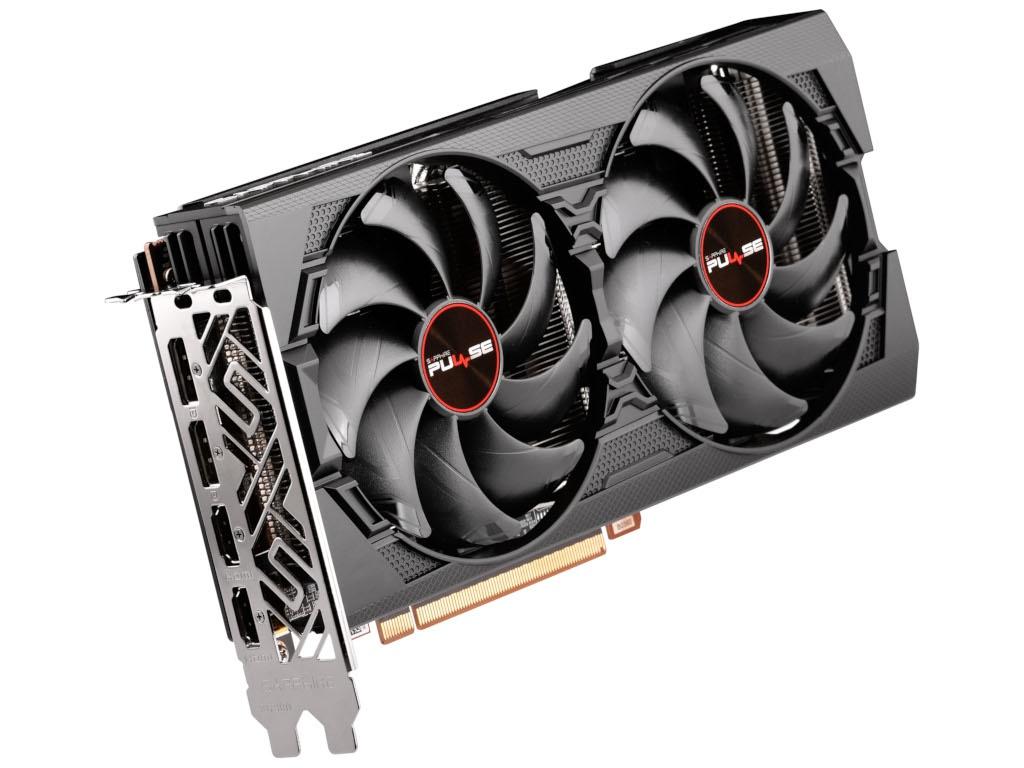 Видеокарта Sapphire AMD Radeon RX 5600 XT PULSE BE 1375Mhz PCI-E 4.0 14000Mhz 192 bit 2xHDMI 3xDP 11296-05-20G