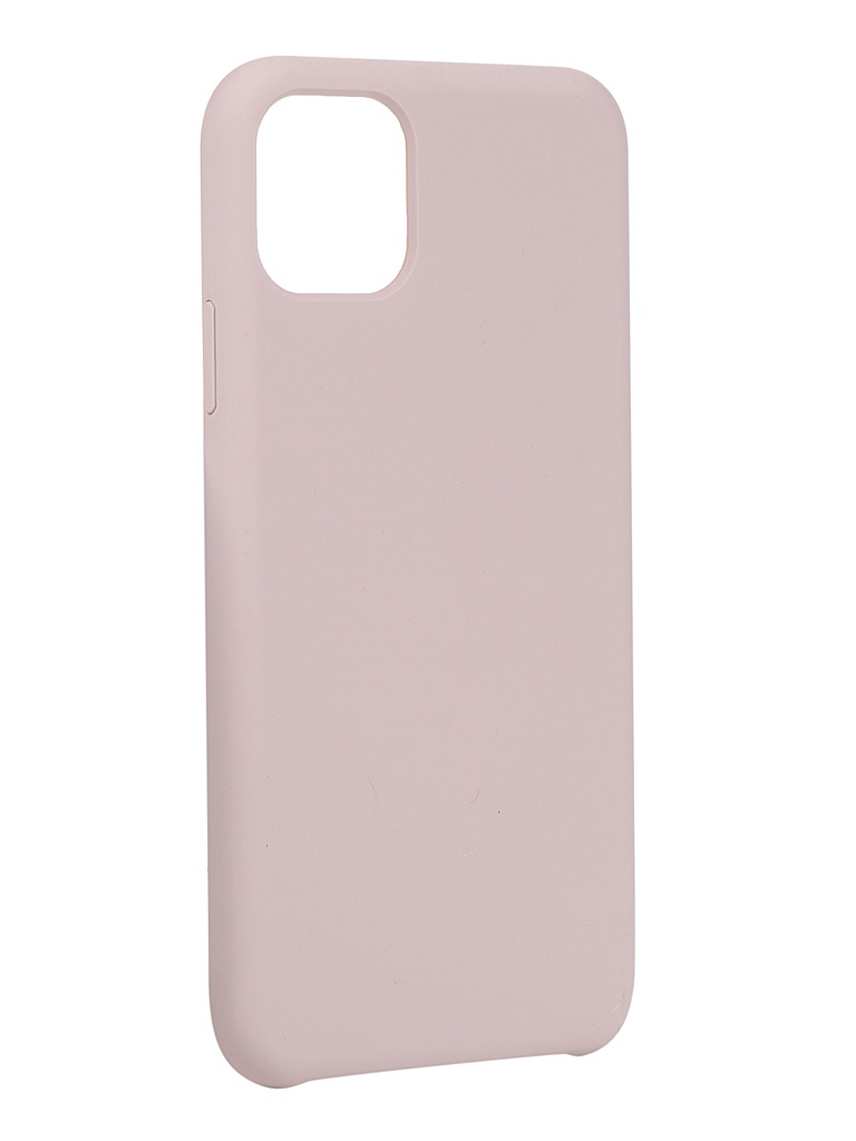 Чехол LuxCase для APPLE iPhone 11 Pro Max Soft Touch Premium Pink 69028