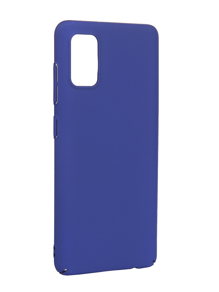 Чехол LuxCase для Samsung Galaxy A41 PC Blue 63013