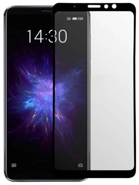 Защитное стекло LuxCase для Meizu Note 8 2.5D Full Glue Black Frame 78314