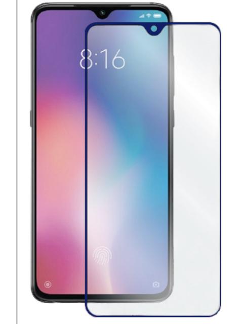 Защитное стекло LuxCase для Honor 9C 2.5D Full Glue Blue Frame 78350