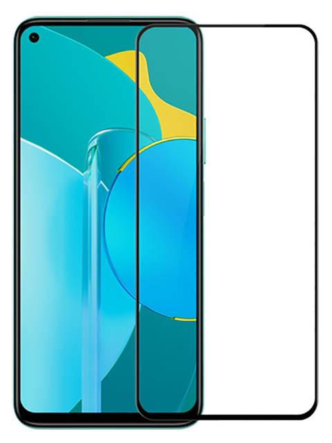 Защитное стекло LuxCase для Honor 30S 2.5D Full Glue Black Frame 78353