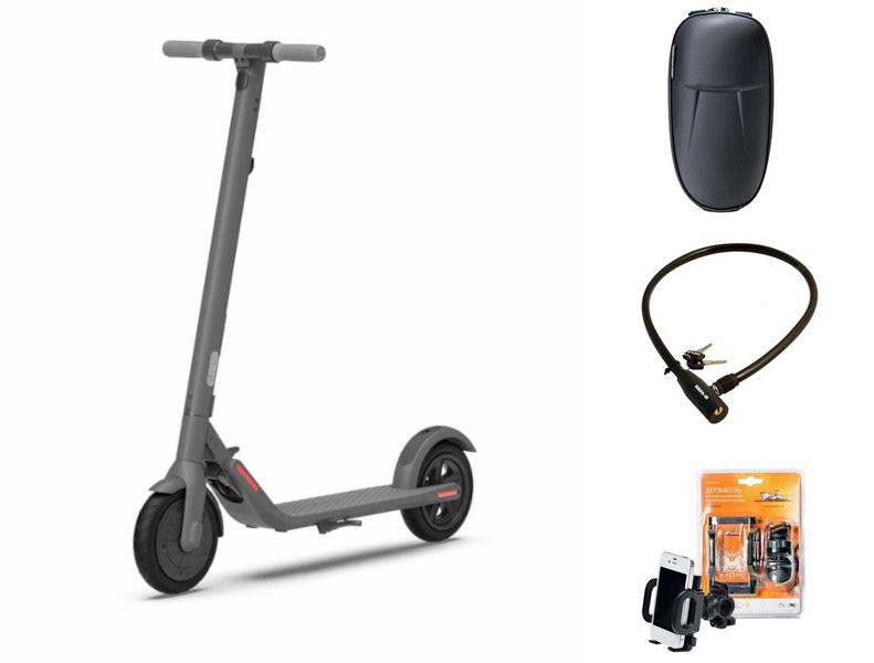 Электросамокат Ninebot By Segway KickScooter E22 Выгодный набор + серт. 200Р!!!