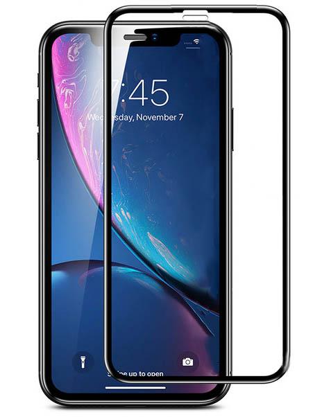 Защитное стекло LuxCase для APPLE iPhone 12 2.5D Full Glue Black Frame 78373 аксессуар защитное стекло luxcase для apple iphone xs max 6 5 3d full glue black frame 77981