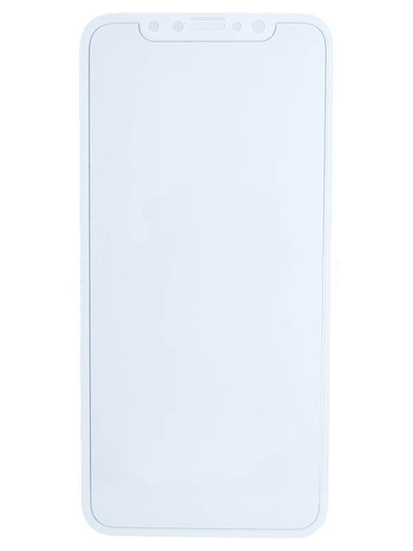Защитное стекло LuxCase для APPLE iPhone 11 2.5D Full Glue White Frame 78156