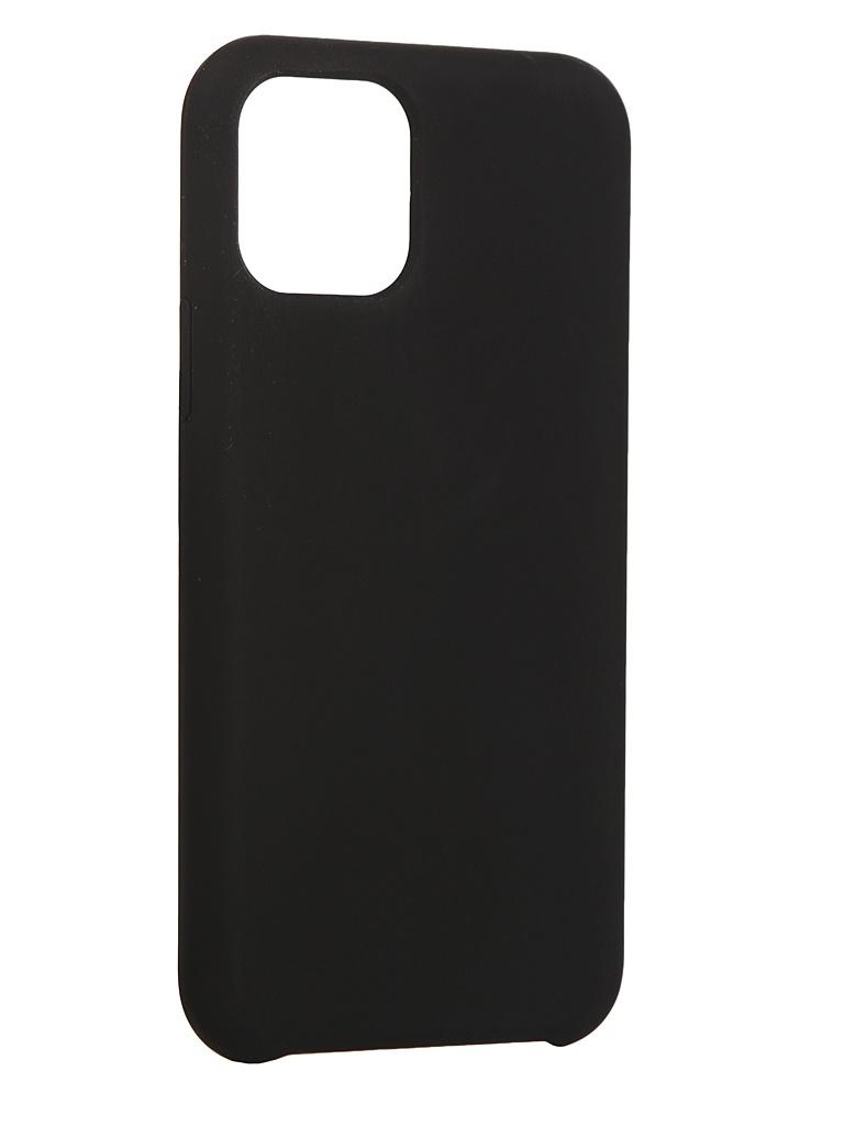 Чехол LuxCase для Apple iPhone 11 Pro Soft Touch Premium Black 69025