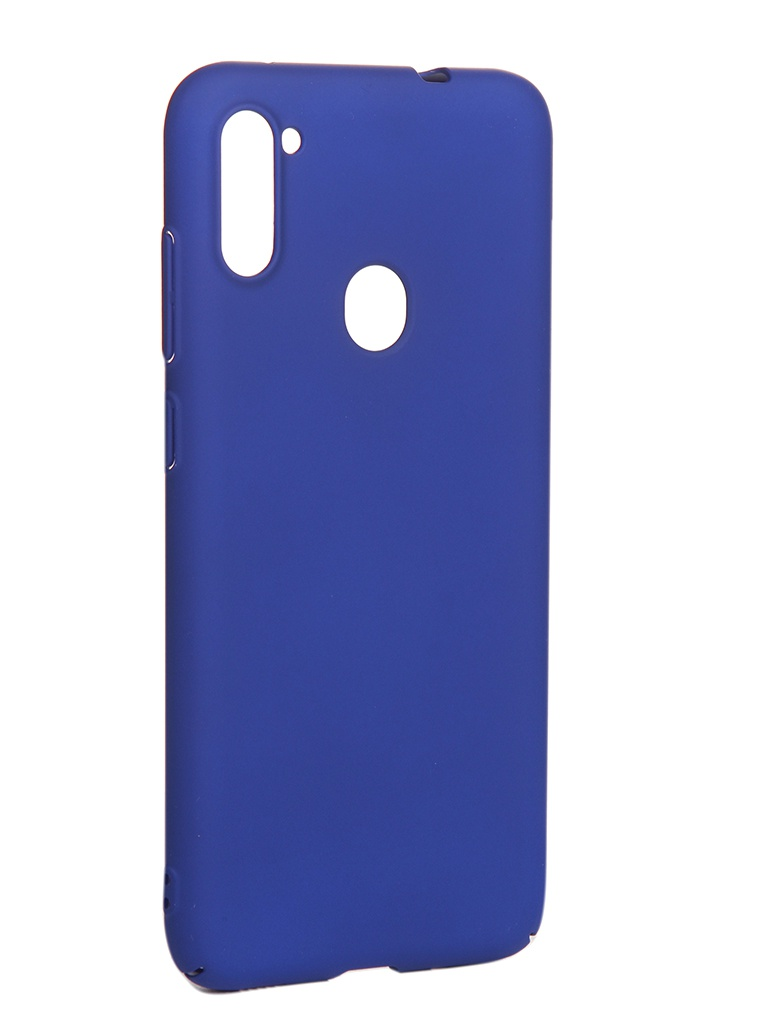 Чехол LuxCase для Samsung Galaxy A11 / M11 PC Blue 63011