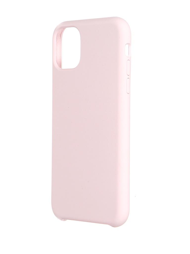 Чехол LuxCase для Apple iPhone 11 Soft Touch Premium Pink 69024