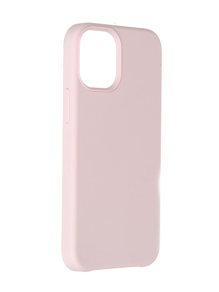 Чехол LuxCase для Apple iPhone 12 Soft Touch Premium Pink 69033