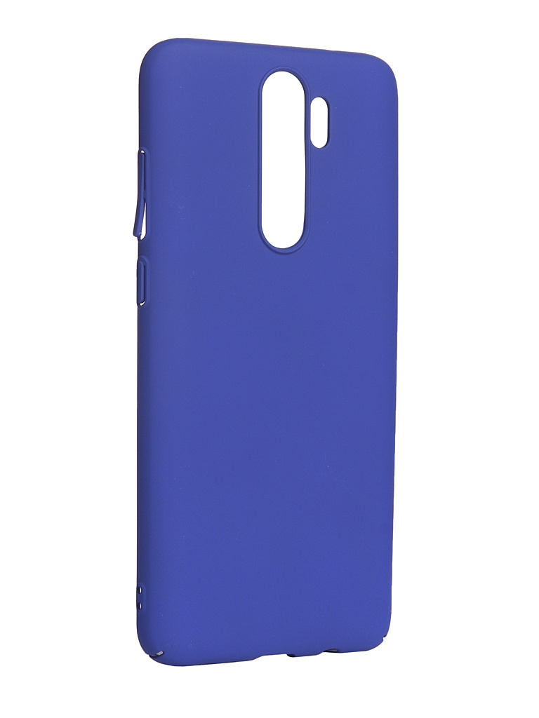 Чехол LuxCase для Xiaomi Note 8 Pro PC Blue 63004