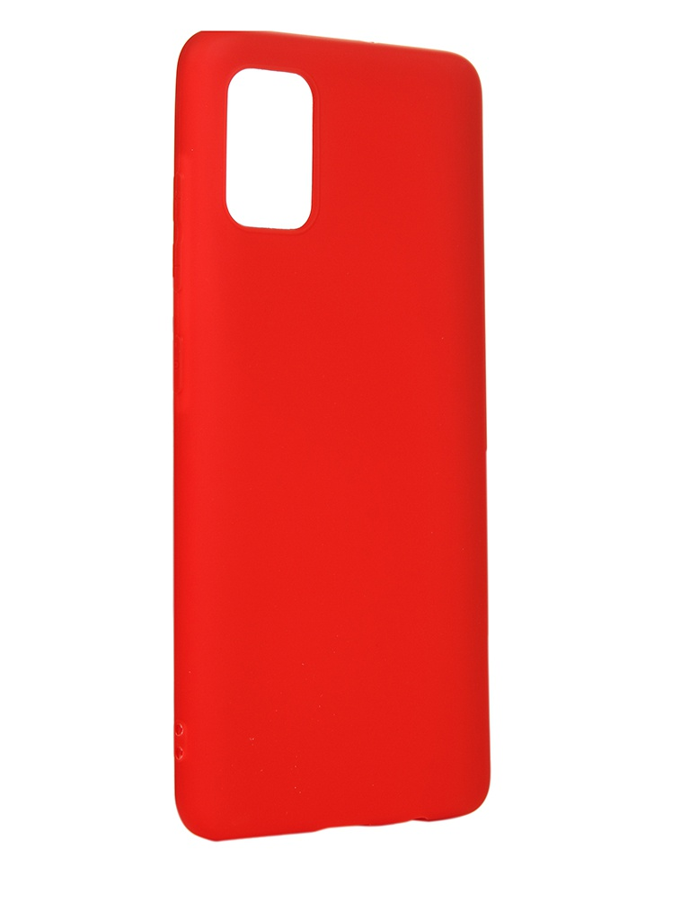 Чехол LuxCase для Samsung Galaxy A51 Red 62233