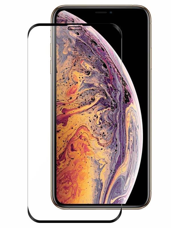 Защитное стекло LuxCase для APPLE iPhone 11 Pro Max/XS Max 3D Full Glue Black Frame 78130 аксессуар защитное стекло luxcase для apple iphone xs max 6 5 3d full glue black frame 77981