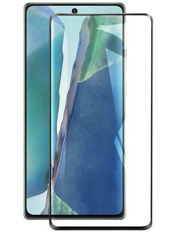 Защитное стекло LuxCase для Samsung Galaxy Note 20 3D PMMA Black Frame 84120 защитное стекло luxcase для samsung galaxy s20 3d pmma black frame 84108