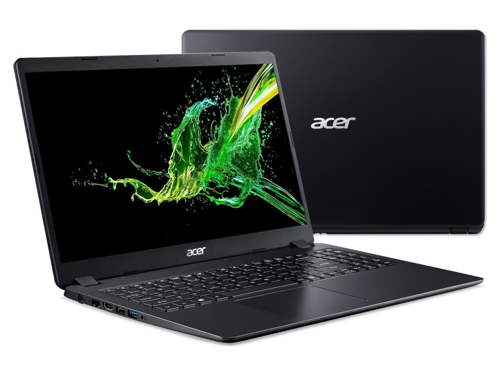Ноутбук Acer Aspire 3 A315-56-53DR NX.HS5ER.012 (Intel Core i5-1035G1 1.0GHz/8192Mb/1000Gb + 256Gb SSD/No ODD/Intel HD Graphics/Wi-Fi/15.6/1920x1080/No OS)