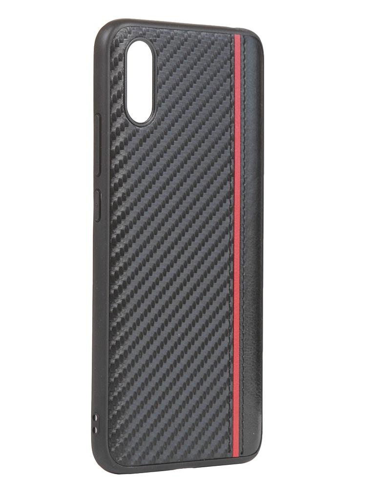 Чехол G-Case для Xiaomi Redmi 9A Carbon Black GG-1276