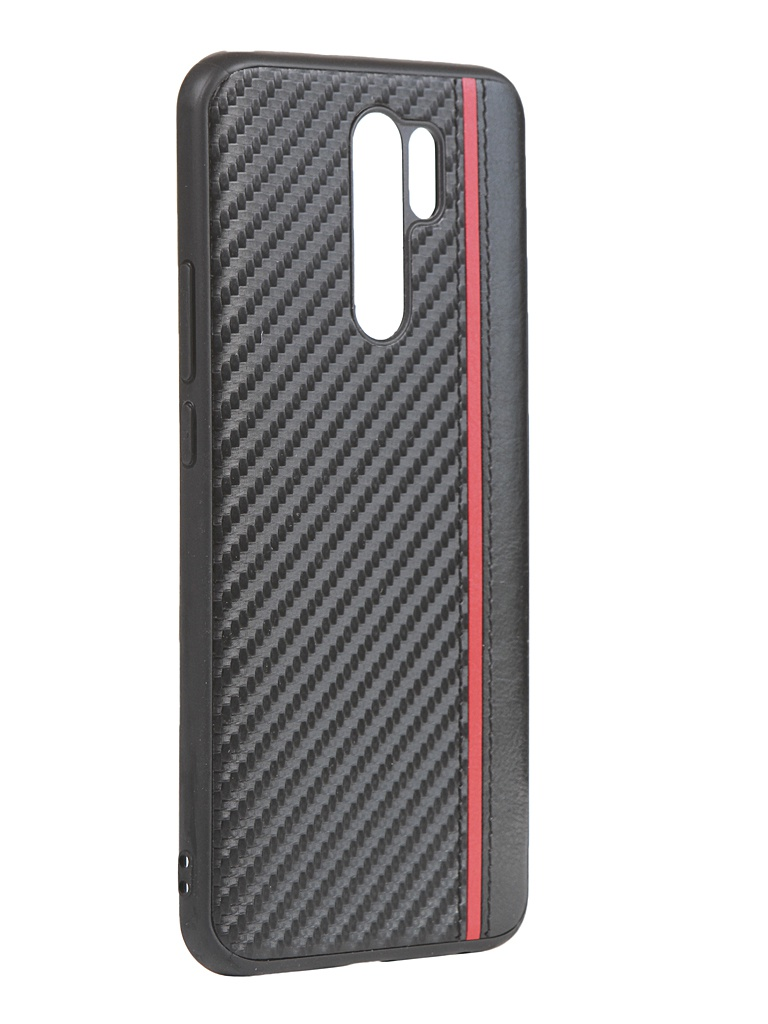 Чехол G-Case для Xiaomi Redmi 9 Carbon Black GG-1269