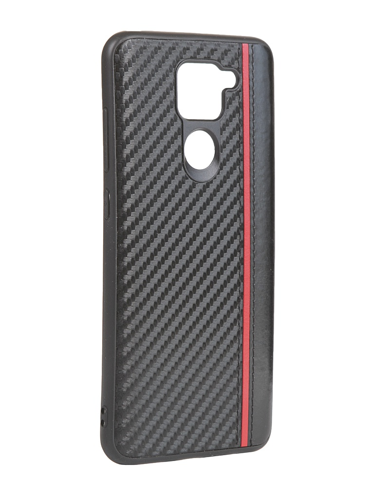 Чехол G-Case для Xiaomi Redmi Note 9 Carbon Black GG-1260